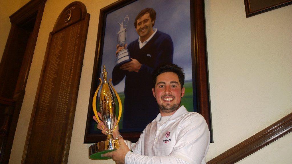 Alfie Plant Lytham Trophy 2016 Photo 2